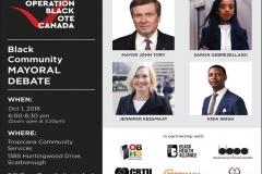 OBVC Black Mayoral Debate - Flyer (650x500)