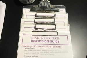 Dinner and Politics Launch in Ottawa