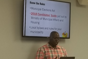 Municipal Elections Boot Camp 2018