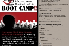 OBVC - Municipal Bootcamp Flyer