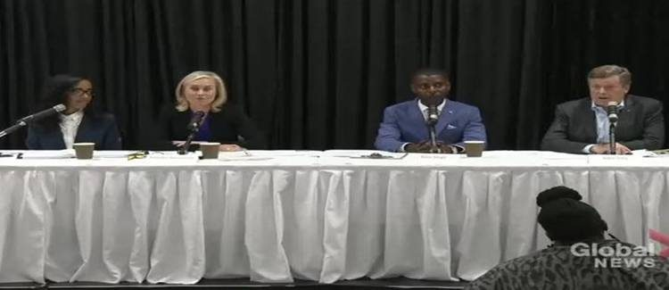 Mayoral candidates square off in debate focusing on issues related to Toronto's Black community