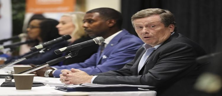 John Tory's dedication to Black community issues questioned at mayoral debate