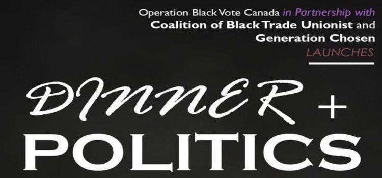 Launch Reception for Dinner + Politics Campaign